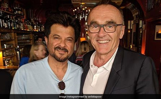 Anil Kapoor Catches Up With Slumdog Millionaire Director Danny Boyle. Jai Ho!