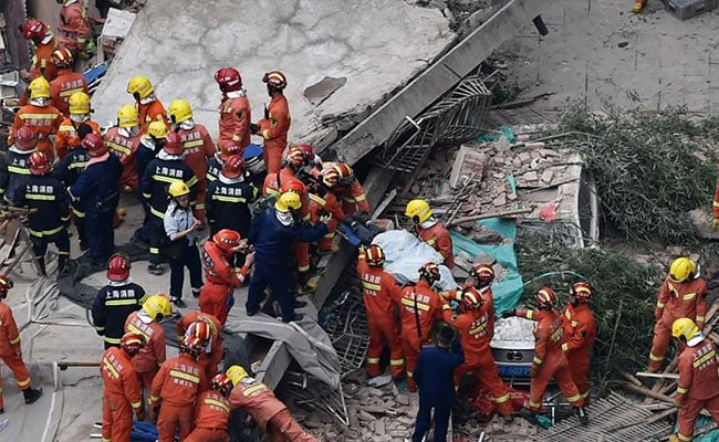 19 Rescued From Collapsed Shanghai Building: Government