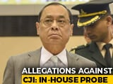 Video : Chief Justice Appears Before Top Court Panel On Allegations Against Him