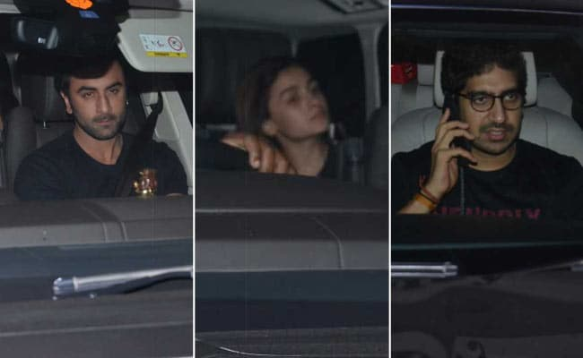 Alia Bhatt And Ranbir Kapoor Made It A Tuesday To Remember At Karan Johar's