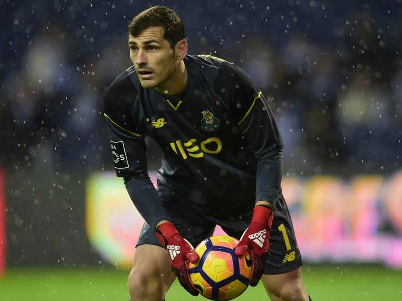Iker Casillas Suffers Heart Attack In FC Porto Training, Stable In Hospital