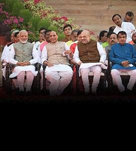 PM Narendra Modi's Cabinet: New Ministers Include First