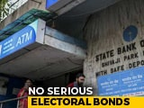 Video : Electoral Bond Sale Jumps 157% In Poll Season, Touches Rs. 3,622 Crore