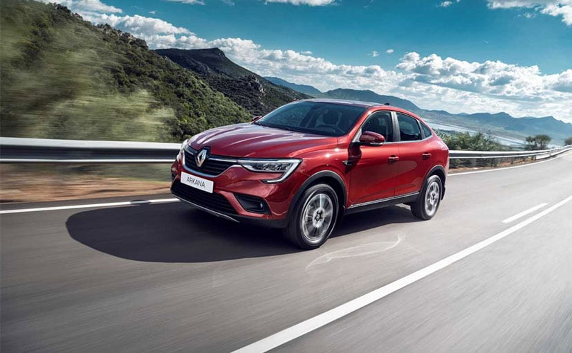 The Renault Arkana is a C-Segment compact coupe SUV.