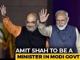 Video: Amit Shah To Join PM Modi's Cabinet: Sources