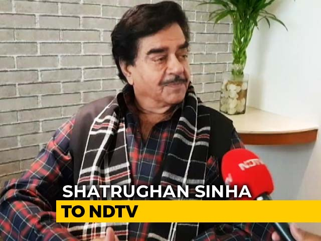 "Video : ""Bihar To Show Them Their <i>Aukaat</i>"": Shatrughan Sinha On Amit Shah Roadshow"