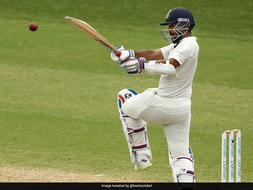 Ajinkya Rahane becomes third Indian to score a hundred on county debut