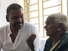கஜா புயலில் வீடிழந்த பாட்டிக்கு வீடுகட்டித்தந்த ராகவா லாரன்ஸ்..!