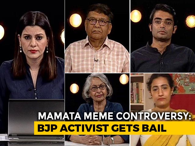 Video : Mamata Banerjee Meme Controversy: Curbing Free Speech?