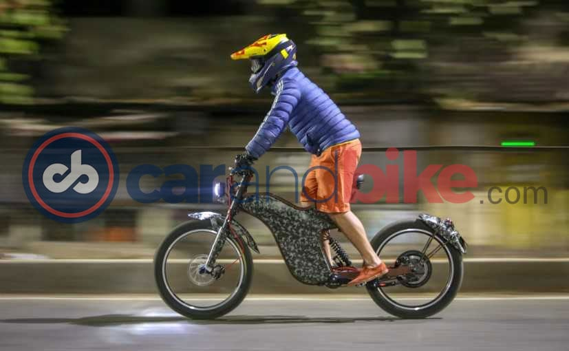 Polarity Electric Bike With 100 Kmph Top Speed Spotted Testing
