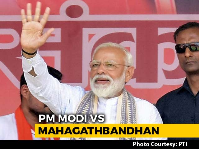 Video : PM Modi, Uttar Pradesh Mahagathbandhan Face-Off Near Ayodhya Today