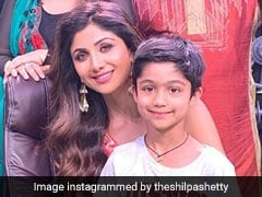When Shilpa Shetty's 6-Year-Old Son Viaan Bunked School To Meet 'Idol' Tiger Shroff