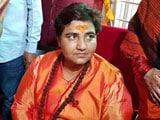"Video : Pragya Thakur, Malegaon Accused, Leads In Bhopal, Says ""Win Certain"""