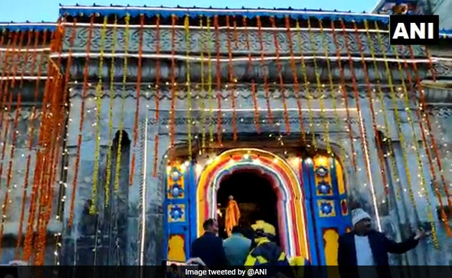 Kedarnath Temple In Uttarakhand Opens For Pilgrims After Winter Break