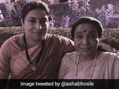 """She Cares, That's Why She Won"": Asha Bhonsle Compliments Smriti Irani"