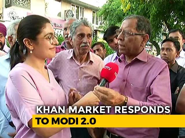 """Video : Delhi's Khan Market Traders """"Gang-Up"""" Against Name Change"""