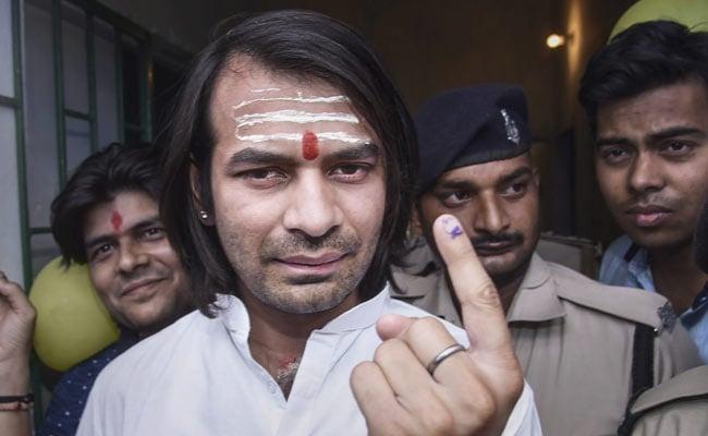 Lalu Yadav's Absence Big Challenge In Fighting Polls, Says Son Tej Pratap