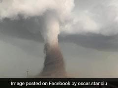 Watch: Powerful Tornado Touches Down In Romanian Countryside
