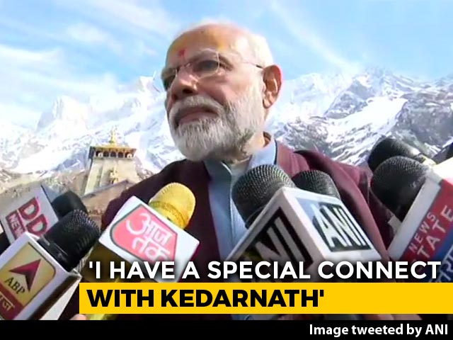 Video : Did PM Modi Pray For Poll Victory In Kedarnath? What He Told Reporters