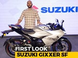 2019 Suzuki Gixxer SF First Look