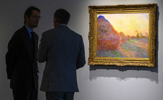 Monet Painting Draws $110.7 Million At New York Auction