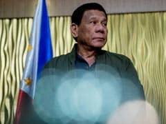 Philippine President Rodrigo Duterte Flicks Off Cockroach, Jokes It's Opposition's. Watch