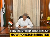 Video : Ex-Diplomat S Jaishankar, Expert On China, Takes Over Foreign Ministry