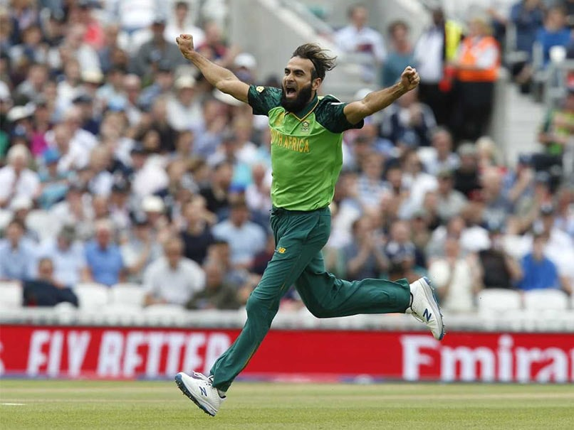 World Cup 2019: Imran Tahir Becomes The First Spinner To Bowl Opening Over