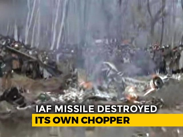 Video : Exclusive: 12 Seconds After Launch, IAF Missile Destroyed Its Own Chopper