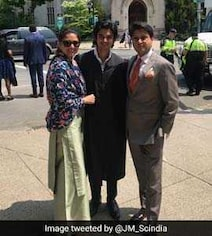 'Proud Father': Jyotiraditya Scindia Tweets Pictures Of Son's Graduation