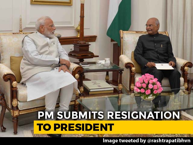 Ahead Of His 2nd Term As PM, Narendra Modi Meets President, Ends 1st Term