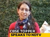 Video : CBSE Topper Karishma Arora Talks Examination Pressure, Future Plans