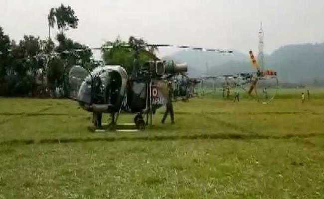 Army Chopper Makes Emergency Landing In Assam After Technical Snag