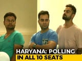 Video: Virat Kohli Takes His Place In Long Queue To Vote Early In Gurgaon