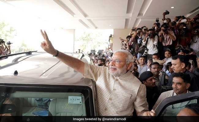Modi addresses first press conference in five years, takes no questions