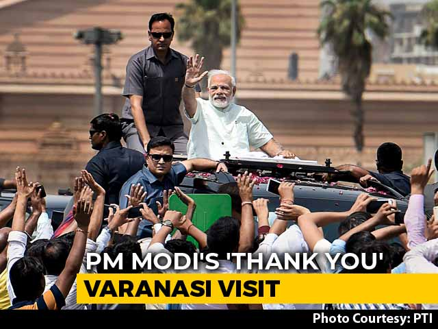 Video : PM Modi's 'Thank You' Visit To Varanasi Today After Landslide Victory
