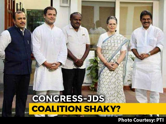 Video : National, Not State Polls, Alliance Continues, Says Congress In Karnataka