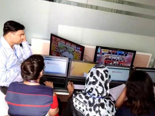 Video: A Look Inside The Election War Room At NDTV Headquarters