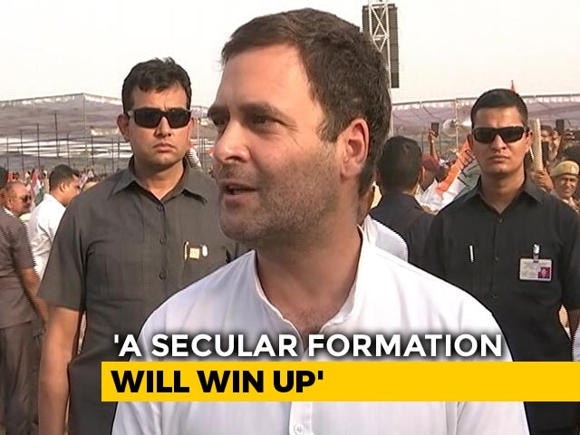 """Video : """"Told My Sister And Jyotir..."""": Rahul Gandhi Reveals His UP Poll Strategy"""