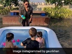 'Little Ones' AbRam, Roohi And Yash Are The Stars Of Gauri Khan's Birthday Message For Karan Johar
