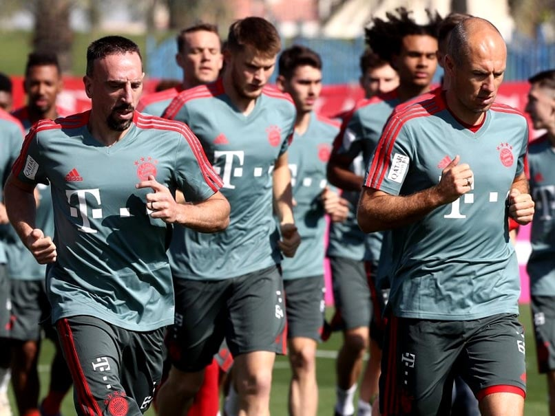 Bundesliga: Robben, Ribery Hope To Return For Nervy Title Run-In