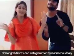 सपना चौधरी ने भोजपुरी गाने पर जमकर लगाए ठुमके, बार-बार देखा जा रहा Video