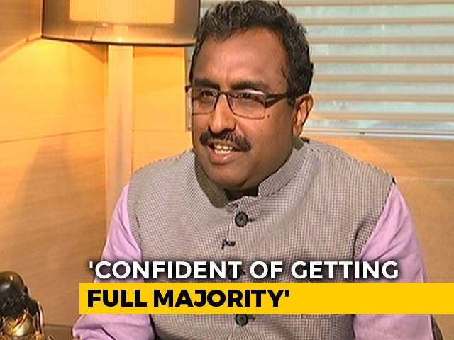 "Video : ""When We Have King, Where Is Need For King-maker"": Ram Madhav To NDTV"