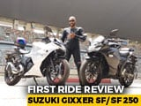 Video : 2019 Suzuki Gixxer SF/ SF 250 First Ride