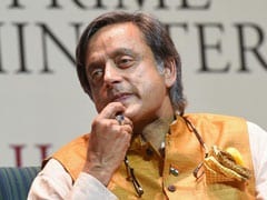 "Shashi Tharoor Backs ""Persecuted"" Chidambaram With A Tweet And A Big Word"