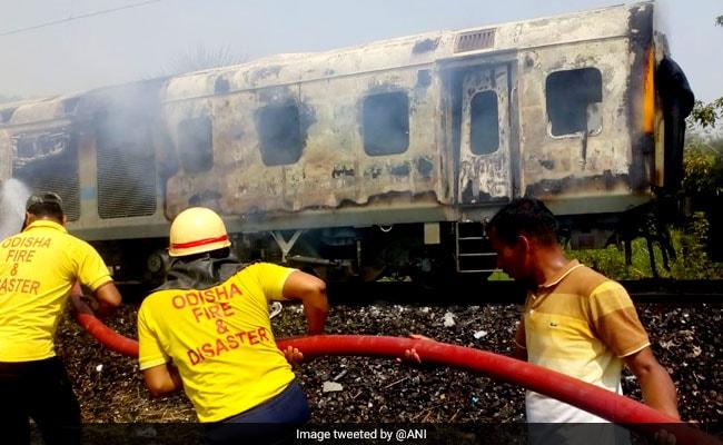 Fire On Bhubaneswar-Bound Rajdhani Express, All Passengers Safe