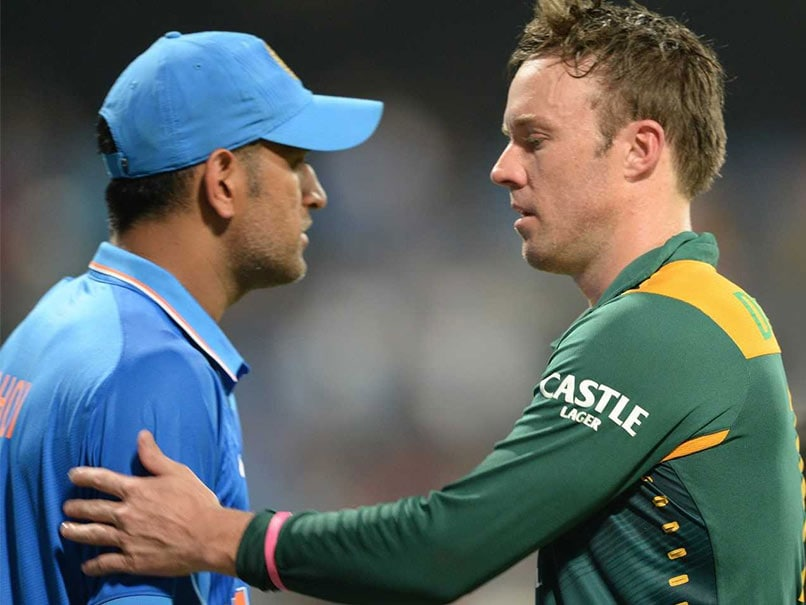 AB de Villiers On How MS Dhoni Might Influence His International Comeback