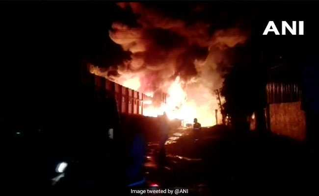 Fire At Chemical Factory In Dadra And Nagar Haveli's Silvassa