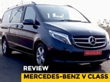 Video : Mercedes-Benz V Class Review