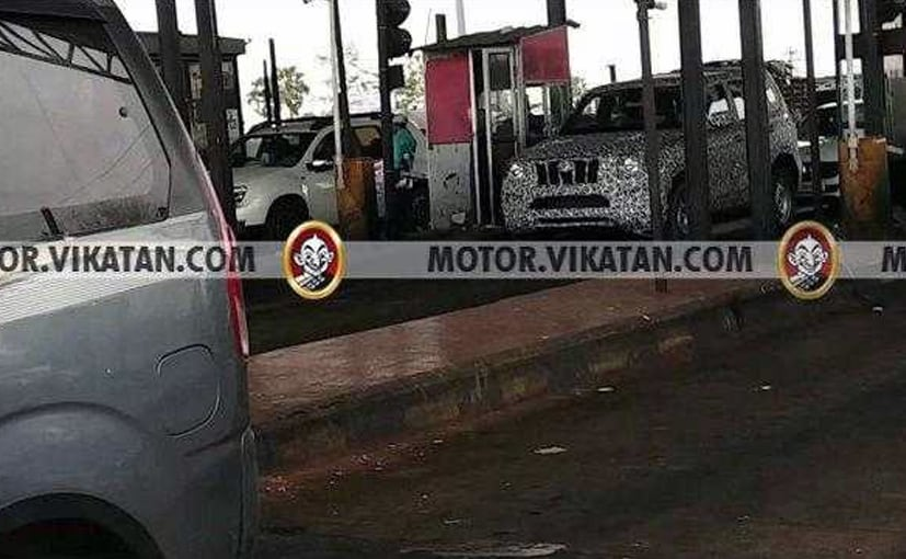 Next Generation Mahindra Scorpio Spotted Testing For The First Time